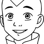 Draw Aang Step Last Avatar Aang Coloring Page