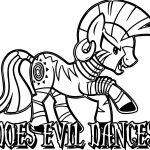 Evil Dance Enchantress Zecora Coloring Page