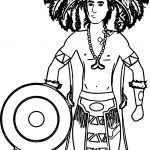 Aztec Free Illustrations Coloring Page