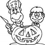 Free Pumpkin Art Coloring Page