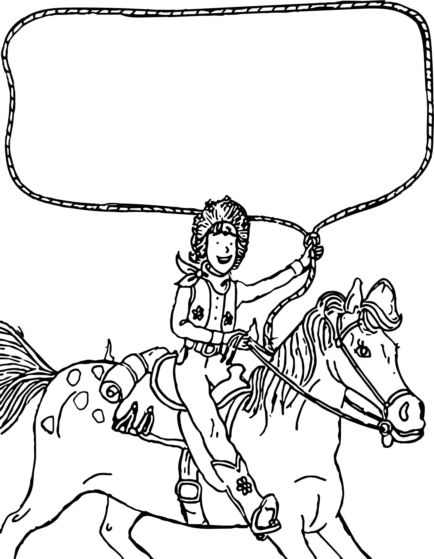 Uncategorized Amelia Bedelia Coloring Pages go west amelia bedelia on the horse coloring page wecoloringpage page