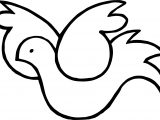 Hanukkah Dove Peace Coloring Page