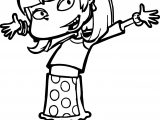 Heyy All Grown Up Girl Coloring Page