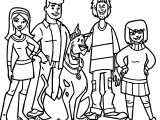 How Scooby Doo Works Teen Coloring Page