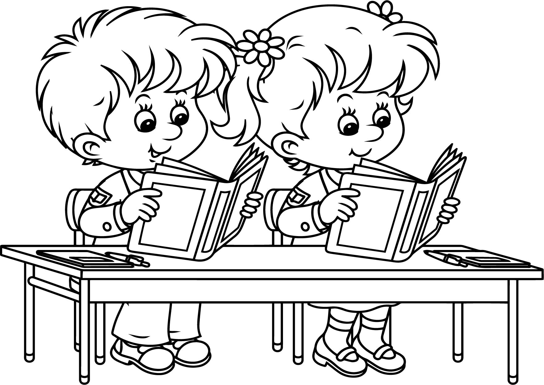 Innovation Back To School Coloring Page