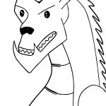 Just American Dragon Coloring Page