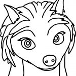 Kate Alpha And Omega Coloring Page