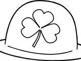 Leaf Hat All Saint Day Coloring Page