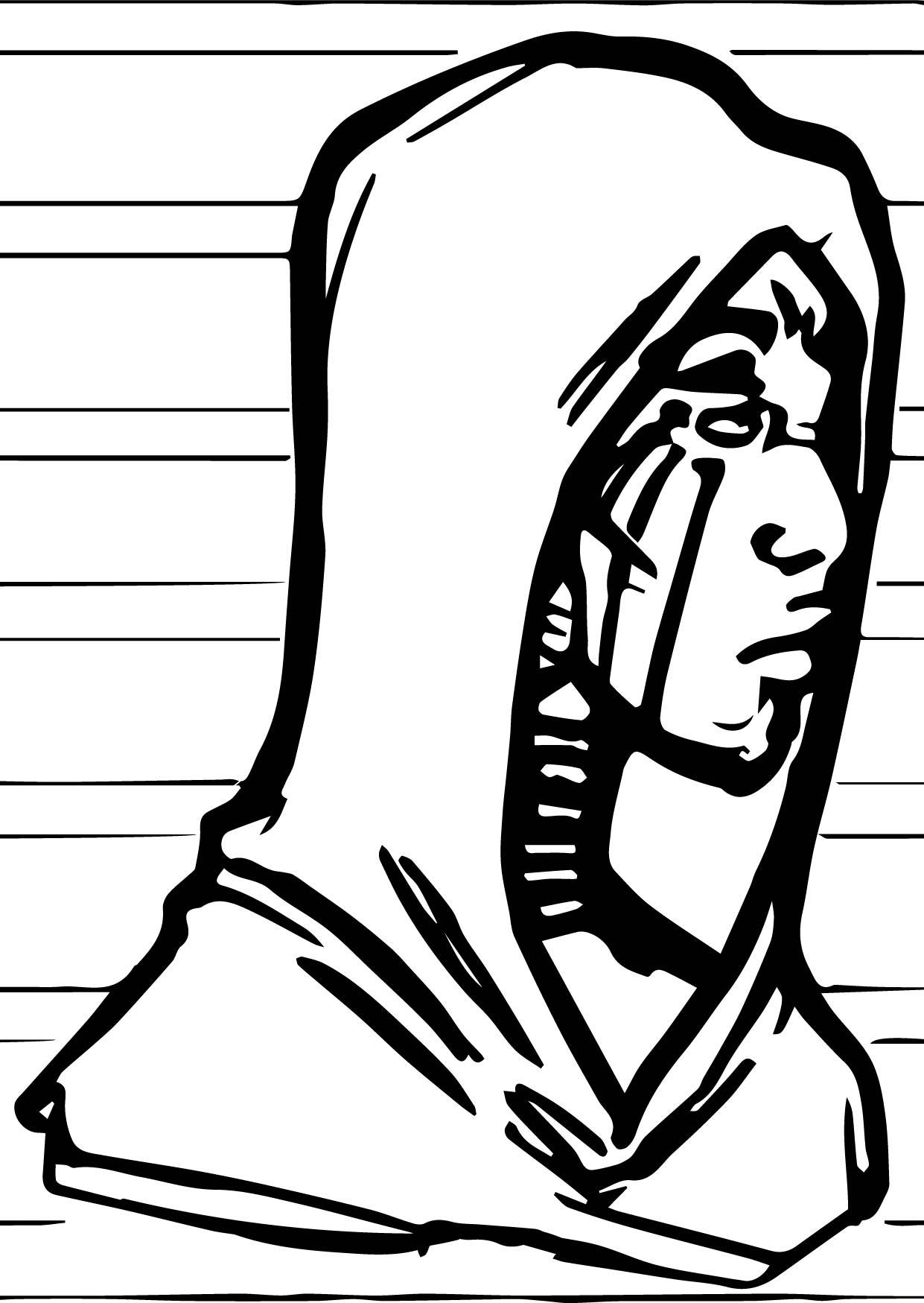 Man Human Zecora Coloring Page