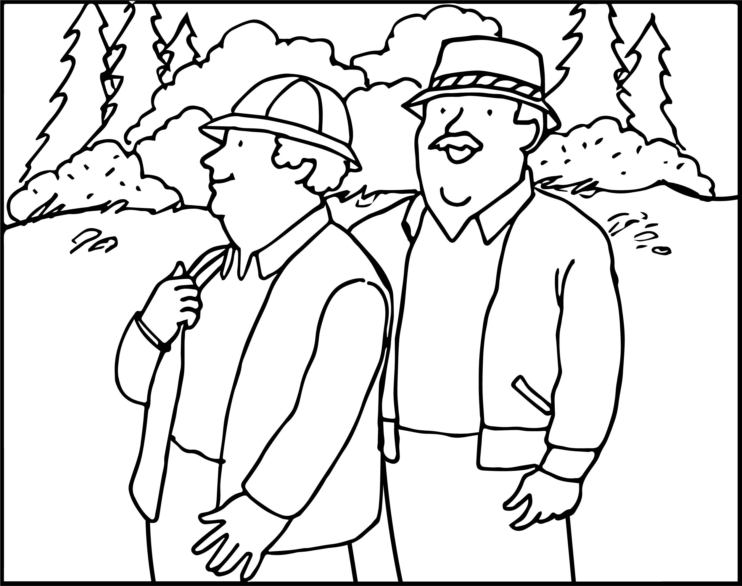 Mr And Mrs Rogers Coloring Page