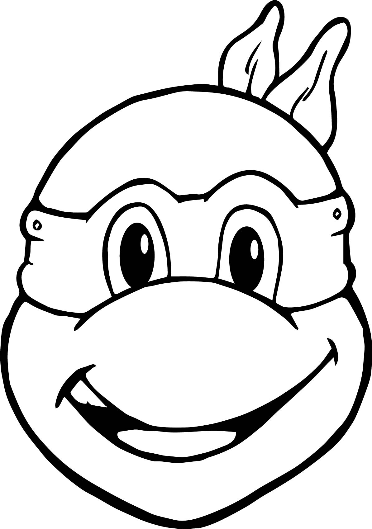 Coloring pages ninja - Ninja Turtles Head To Head Coloring Pages