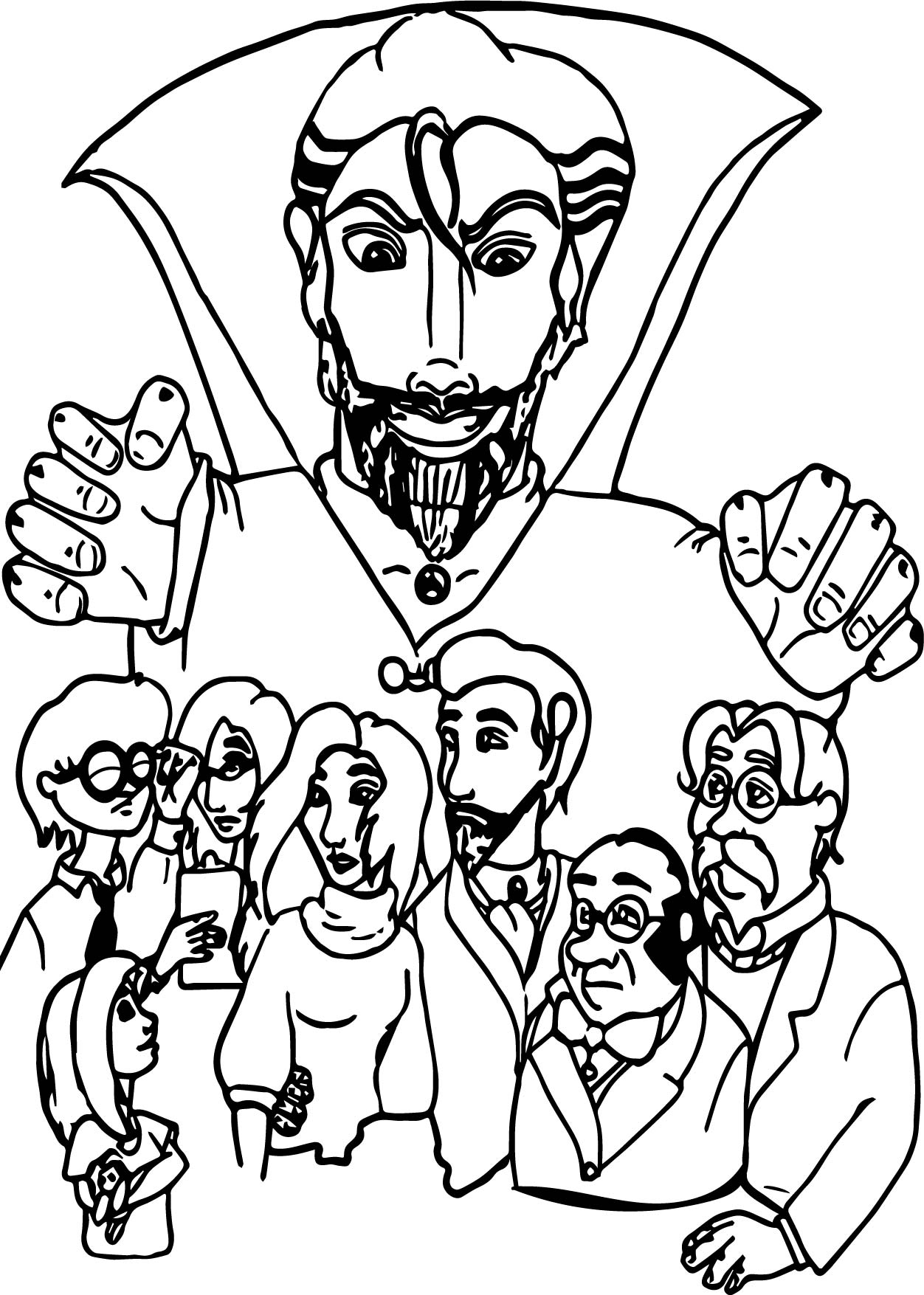 Odyssey Pictures Adventures In Coloring Page