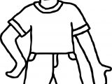 People Boy Coloring Page