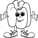 Pepper Cartoon Coloring Page