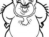 Phil Hercules Angry Coloring Page