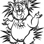 Phil Hercules Shock Electric Coloring Page