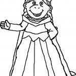 Princess Muffy Arthur Coloring Page