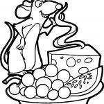 Ratatouille Cheese Grape Watermelon Coloring Page