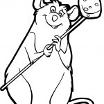 Ratatouille Mouse Django Coloring Page