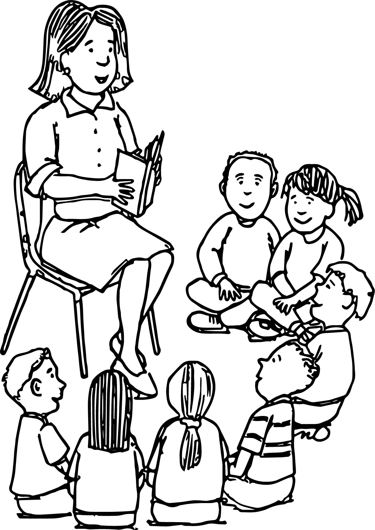 Teacher And Student Coloring Pages Coloring Pages Coloring Pages Students