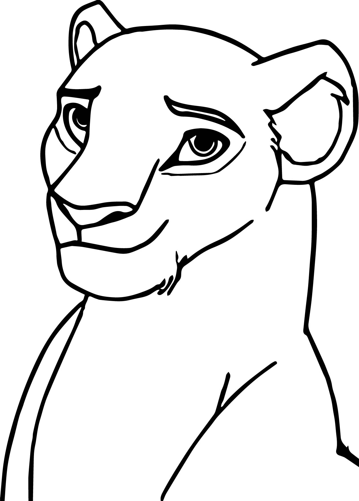 100 Coloring Pages Lion