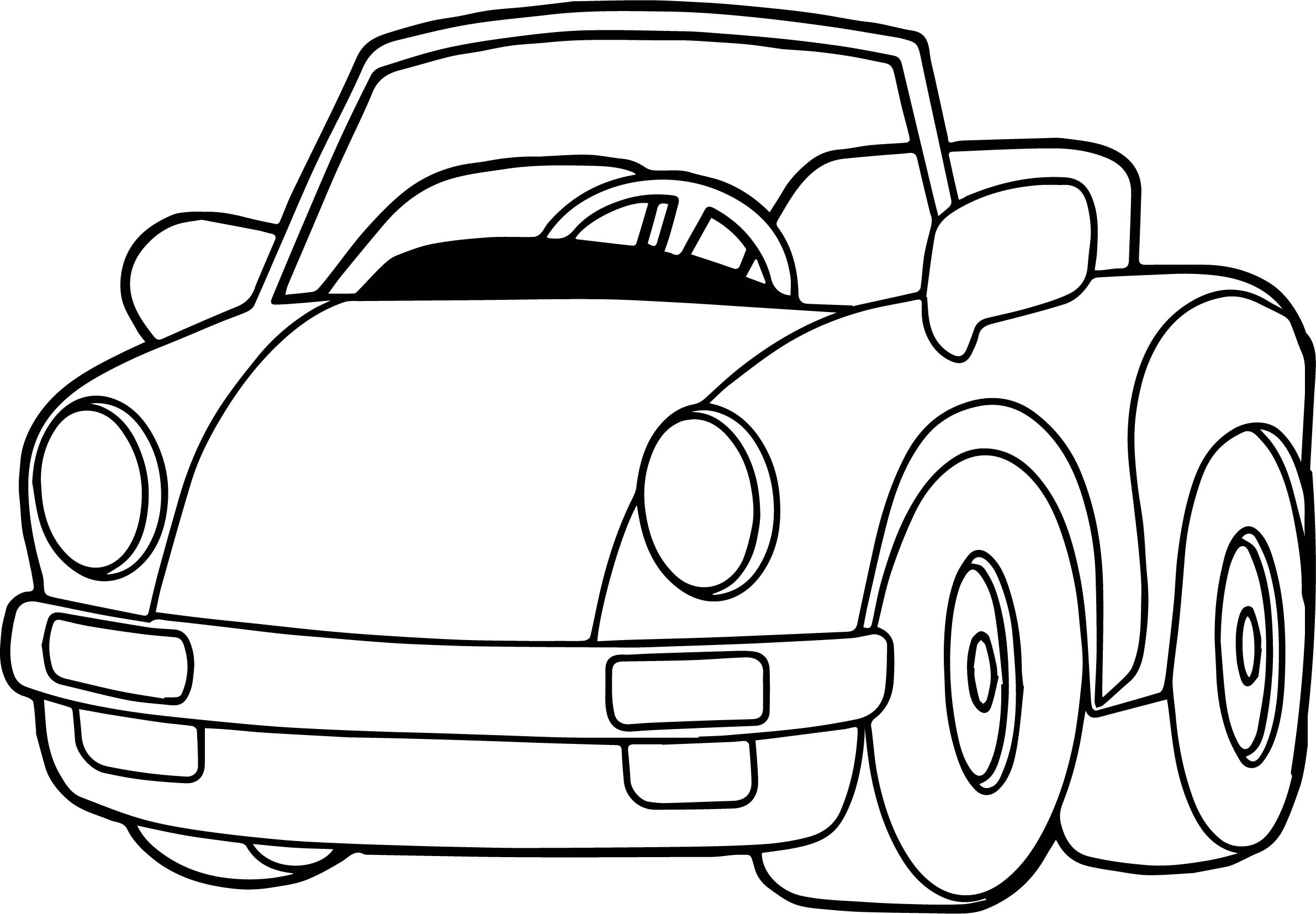 coloring pages toys - speed toy car coloring page