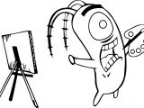 Spongebob Cartoon Best Perfect Coloring Page