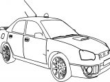 Sport Rally Car Boxer Coloring Page