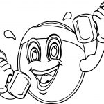 Sports Physical Activity Coloring Page