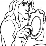 Tarzan Picture Coloring Page