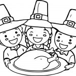 Thanksgiving For Kids Activities Village Coloring Page