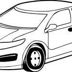 Toy Car Standart Coloring Page