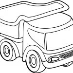 Toy Car Truck Coloring Page