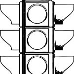 Traffic Light All Coloring Page