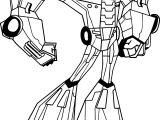 Transformers Animated Optimus Prime Coloring Page