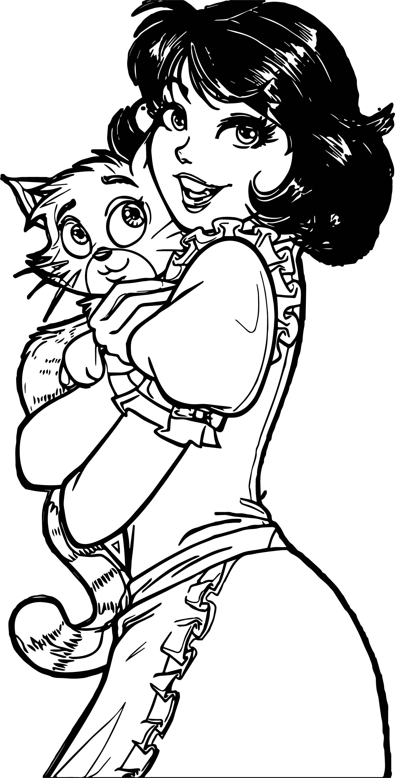 Turma Da Monica Jovem Gifs Linda Lima Cat Coloring Page