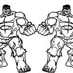 Vampire Hulk Et Hulk Avengers Coloring Page