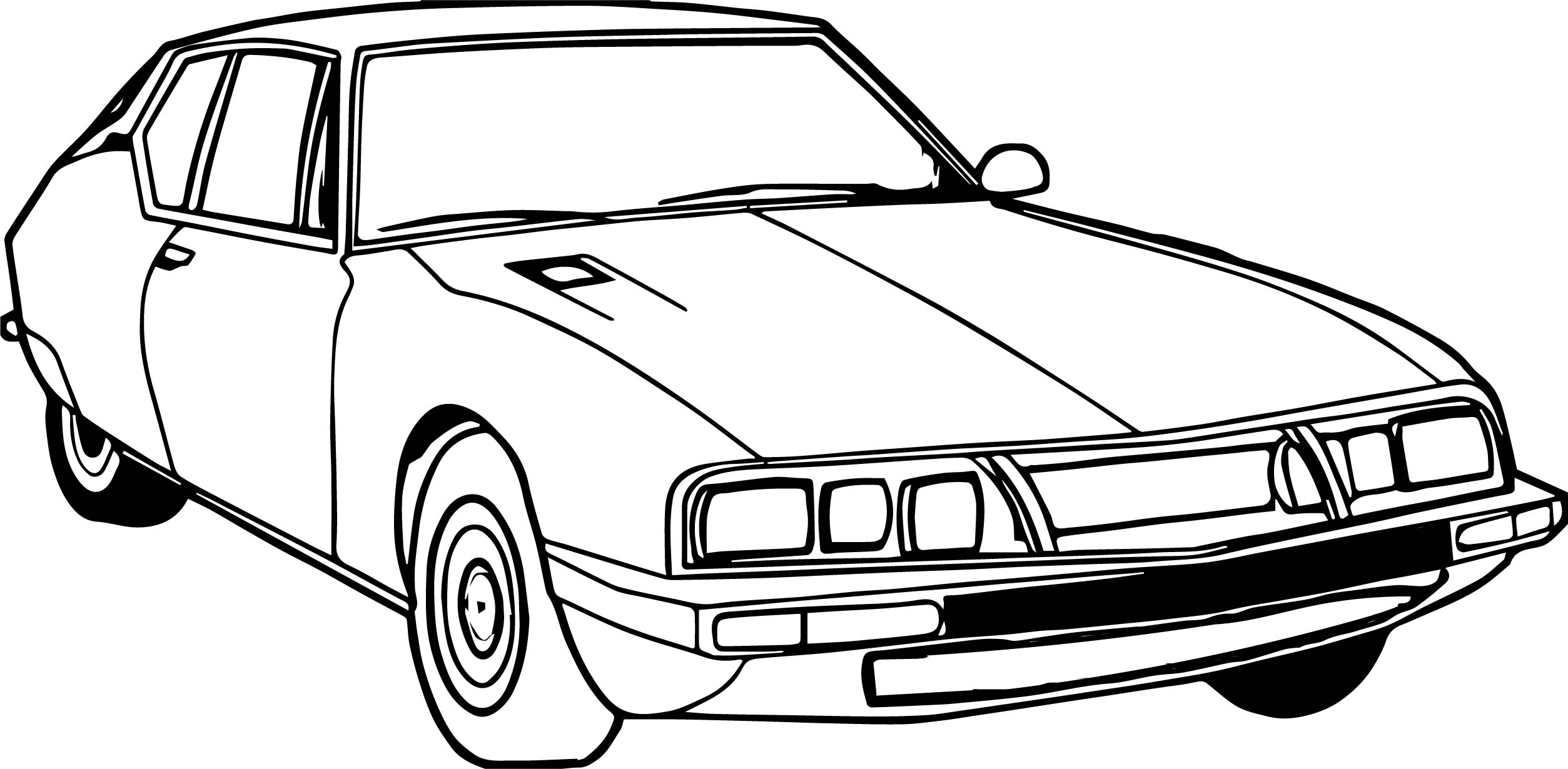 coloring pages antique cars | Vintage Antique Small Car Coloring Page | Wecoloringpage.com