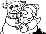 Winter Seasons Coloring Page