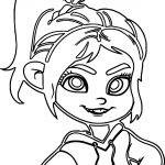 Wreck It Face Coloring Page