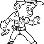 Wreck It Ralph Hammer Coloring Page