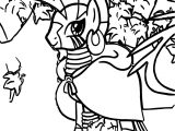 Zecora The Zebra In Forest Coloring Page