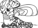Zecora W Socks Coloring Page