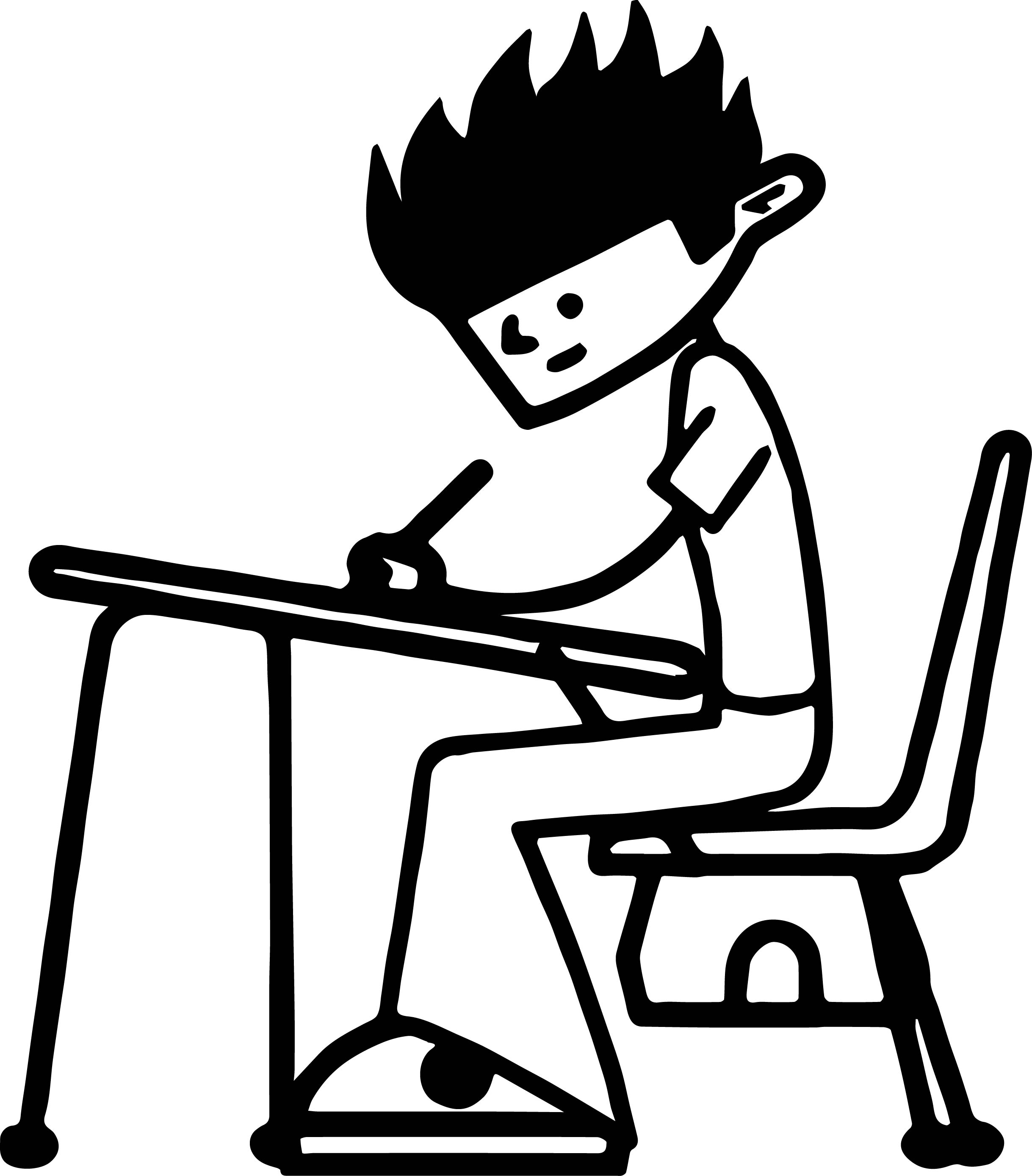100 days of school coloring pages - 100 days of school boy coloring page