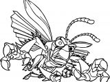 A Bugs Life Danger Bug Coloring Page