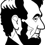 Abraham Lincoln President Abd Side View Coloring Page