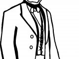 Abraham Lincoln President Book Coloring Page