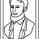 Abraham Lincoln President Picture Coloring Page