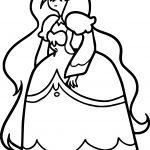 Adventure Time Angry Princess Coloringpage