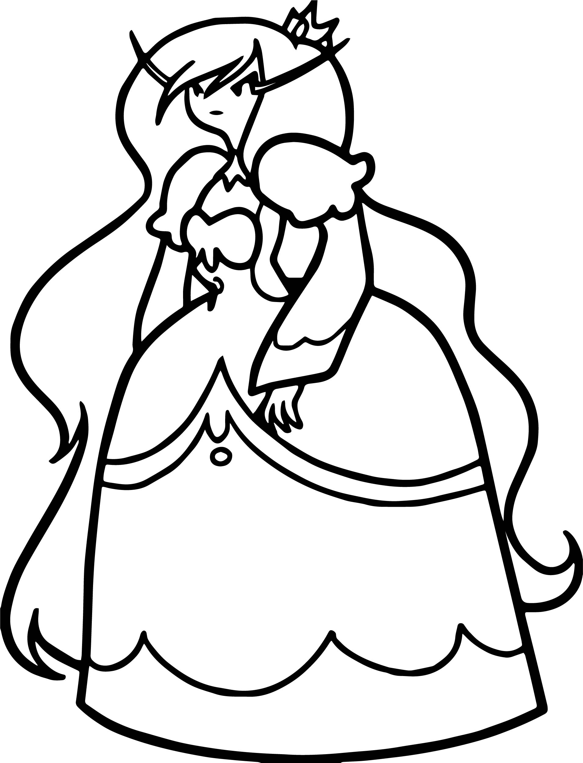 Adventure Time Angry Princess Coloringpage